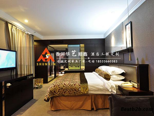 欧式酒店套房家具-奢华高档酒店宾馆家具-华艺顺鑫