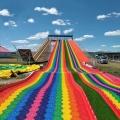 七彩滑道建設坡度要求 彩虹滑梯 七彩滑道供應