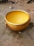 花盆花缽制造 純銅大缸水缸 景觀銅大缸定做