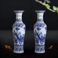 景德镇陶瓷器落地大花瓶手绘