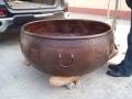 仿古故宮 青銅花缽 定做寺廟水缸