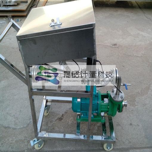 液体定量分装大桶设备