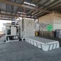 1000公斤包菜種植基地使用謳科真空預冷機快速降溫