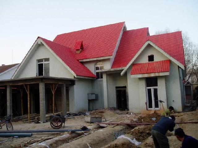 砖木混合结构等各种结构新建坡屋面和老建筑平改坡屋