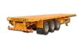 定做13米三軸輕型平板運輸半掛車