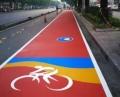 深圳公園瀝青熒光路面設計承接
