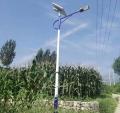 張家口塞北農村太陽能路燈6米鋰電池全套
