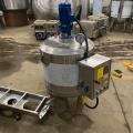 不銹鋼雙層電加熱攪拌罐樹脂液體攪拌機防爆均質乳化罐壓