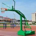 貴州室外標準凹箱籃球架使用方法