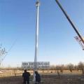 天津20米體育場高桿燈 雙層橫擔燈架