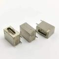TYPE-C16P側插全包款母座側立插板外殼全包