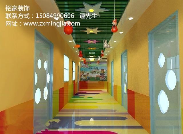 湖南长沙浏阳幼教培训机构装修设计找长沙铭家装饰