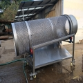 6米滾筒脫鹽機海帶加工脫鹽機不銹鋼脫鹽機
