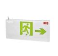 敏華led警示燈小型拉絲鋁面板雙面標志燈