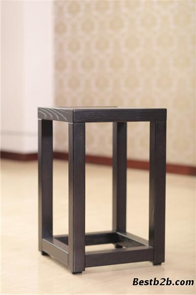 现代新中式实木家具新款禅意实木花架木言木语厂家直销