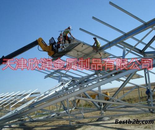 c型钢,z型钢,u型钢,太阳能光伏支架,热镀锌c型钢,热镀锌z型钢,钢结构
