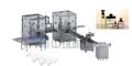 ZHX-XS香水灌装旋压盖贴标生产线