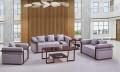 簡約清新布藝沙發時尚撞色款式多樣支持定制廣州盛源家具