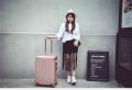 廣東商務鋁框行李箱