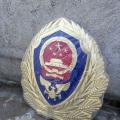消防徽生產鍍金2米消防徽定制