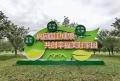 公園綠色健康宣傳牌