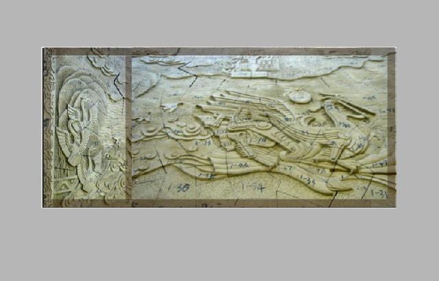 创意设计 装潢设计     爱宝兰公司专业提供浮雕设计:人物动物浮雕,园