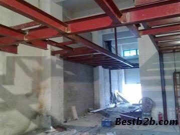 手机验证北京做室内挑高挑空二层隔层钢结构阁楼搭建
