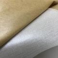 白色帶離型紙襯布 粘力強不滲透定型布 鞋材箱包定型襯