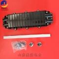 臥式架空直埋PC光纜接頭盒24芯4孔AJS型