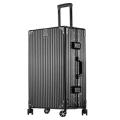方振箱包廠家直銷時尚PC鋁框拉桿箱萬向輪行李箱登機箱