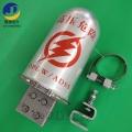桿用鋁合金接頭盒 48芯二進一出接線盒 電力通信熔接