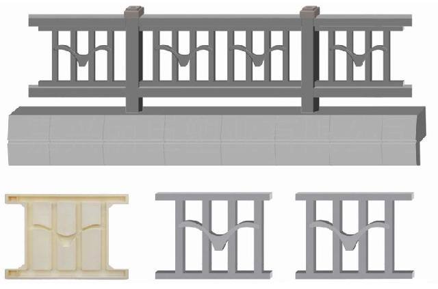 新款欧式花瓶柱混凝土栅栏模具:该款花瓶柱是结合