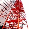 四川建筑箱式爬梯 組合式梯籠 框架爬梯 型號全