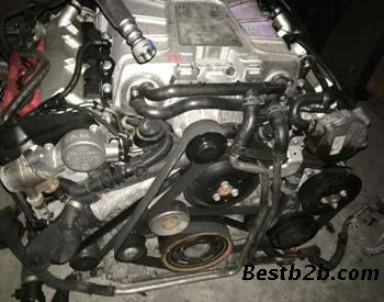 途锐3.0t发动机 缸盖 启动马达 节温器 刹车大力鼓 总泵