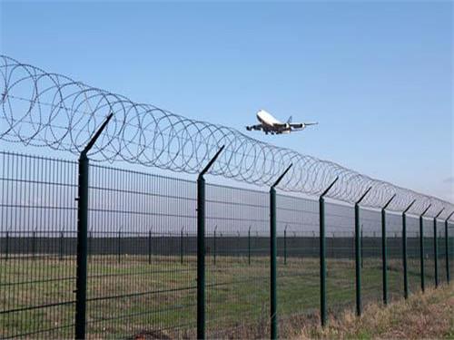 机场护栏网 飞机场围网 y型安全防御护网