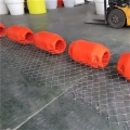 夾管道浮筒發泡填充水上塑料浮體