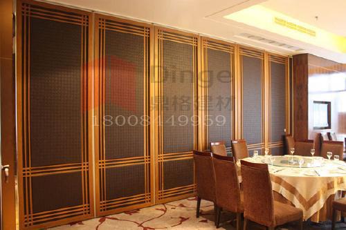供应餐厅包厢折叠式活动屏风隔断墙
