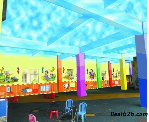 幼儿园拖班动物世界主题墙设计