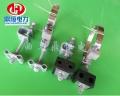 光纜ADSS塔用鑄鐵熱鍍引下線夾