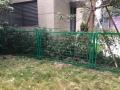 肇庆铁丝网围栏浸塑围栏厂房外面用的护栏蓝白色的铁丝