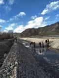 河道護底雙隔板雷諾護墊施工安全注意事項