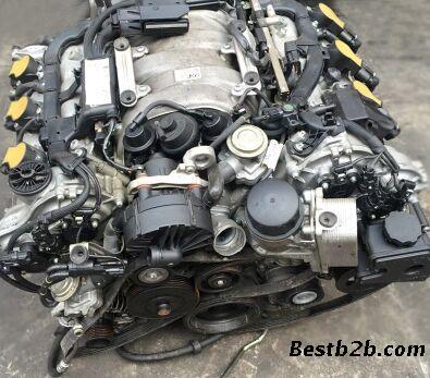 奔驰272发动机总成 中缸 缸盖 发电机 启动马达 波箱