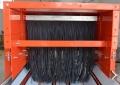 250寬度防塵簾 導料槽粉塵擋簾 三層防塵簾