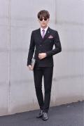 男衬衫批发戈兰图男士西装品牌?#24515;男?#29260;子职业装批发市场特价