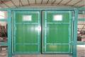 礦用竹膠板風門,竹膠板礦用平衡雙向對開式行人風門