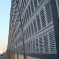 戶外工廠隔音屏金屬透明消音墻 小區高架橋吸音聲屏障