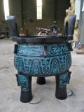 銅器大克鼎香爐 制作公司雕塑供應仿古青銅鼎