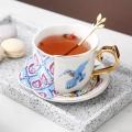 歐式金邊咖啡杯定做高檔禮品杯子骨瓷杯子骨瓷馬克杯骨瓷