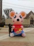 鼠年吉祥物氣模廠家