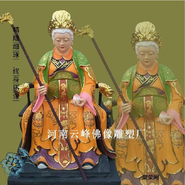 求购 十二老母佛像雕塑 河南大型佛像总厂供应 托天老母